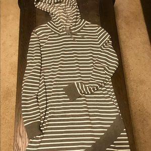 Maurices striped sweatshirt dress.